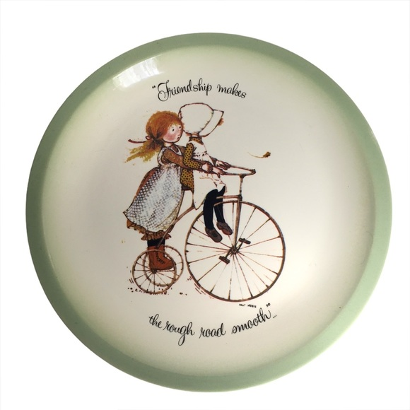 HOLLY HOBBIE Vintage 1972 Collectible Plate